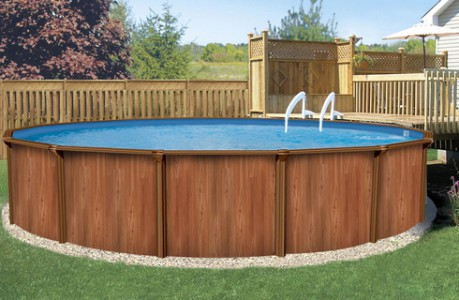 Cборные бассейны Atlantic Pools Esprit - Wood 3.66x1,32 (круглый)
