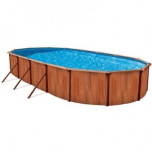 Cборные бассейны Atlantic Pools Esprit - Wood 3.66x5.49x1,32 (овальный)